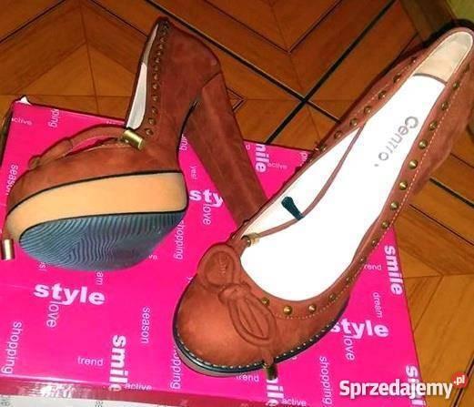 176c7a77a3555 Nowe Szpilki Zamszowe Sandały i klapki dolnośląskie
