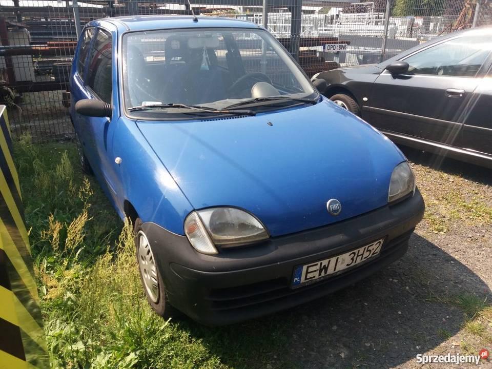 Fiat Seicento nowy inst gazowa Praszka