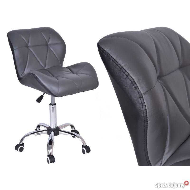 Krzesło Biurowe Moris Szaro Czarne