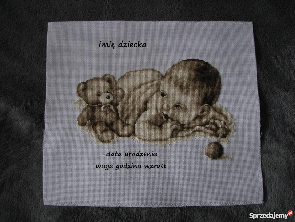 Metryczki narodzin chrztu roczku Pokój dziecięcy Czerwionka-Leszczyny