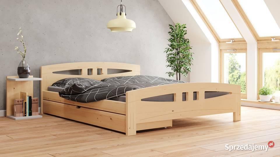 Bardzo Mocne Łóżko Drewniane 160x200 GR. 3,5CM MebleDoSpania