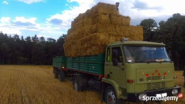 Fantastyczny transport słomy - Sprzedajemy.pl VW04