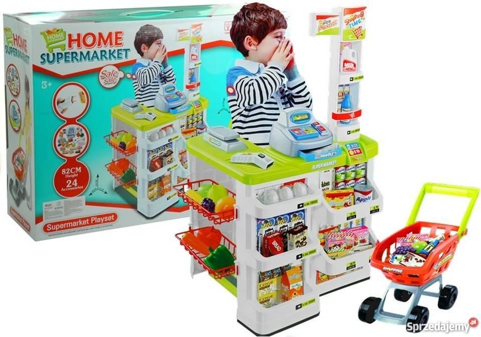 cc72b1d36aa3e6 SKLEP dla dzieci Hipermarket +Kasa +KOSZYK na zakupy Kraków ...
