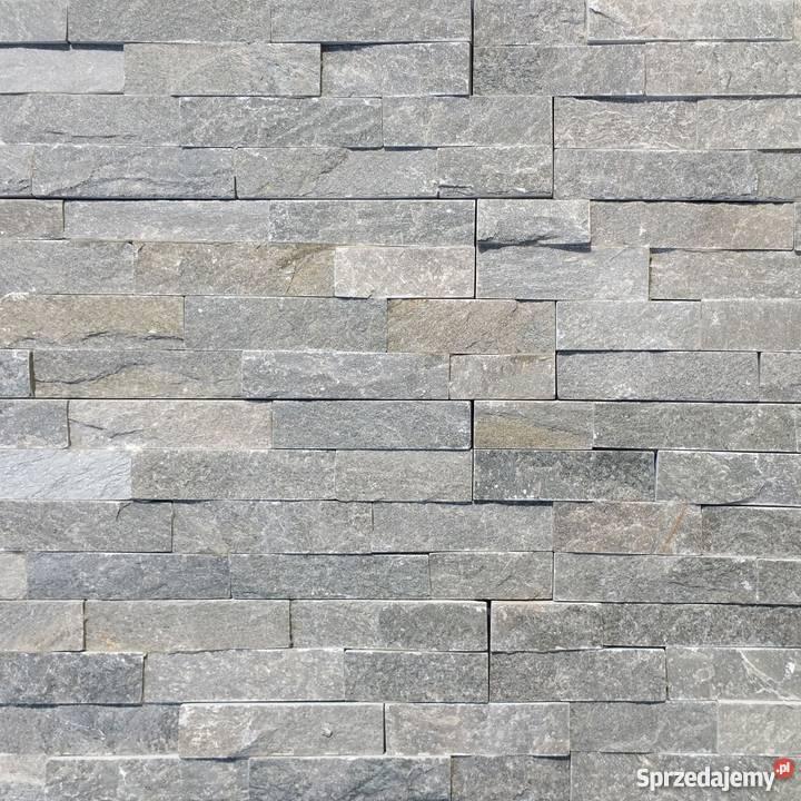 Panele ścienne 10x36 łupek stackstone grey Lublin
