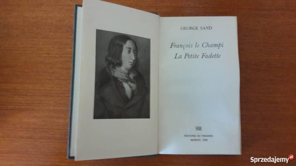 Francois le Champi La Petite Fadette George Sand dolnośląskie Lubin