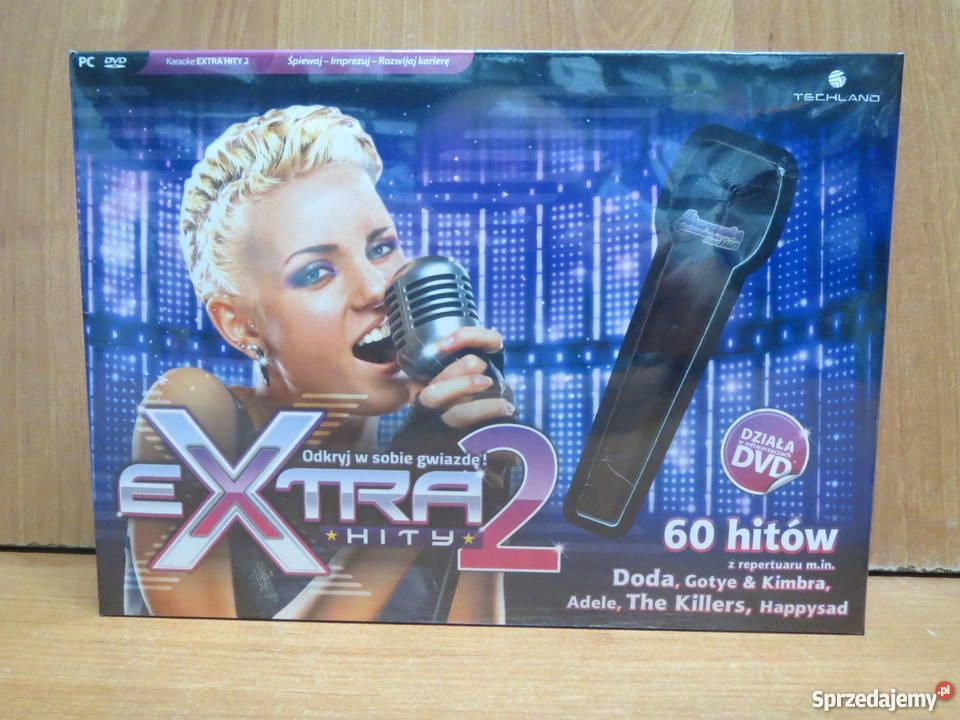Karaoke for Fun Hity 2 mikrofon PC NOWA śląskie Katowice