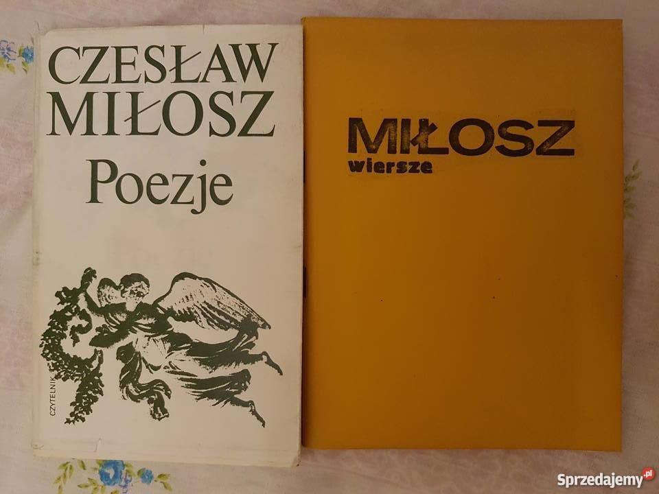 Czesław Milosz Poezje Wiersze 2 Książki