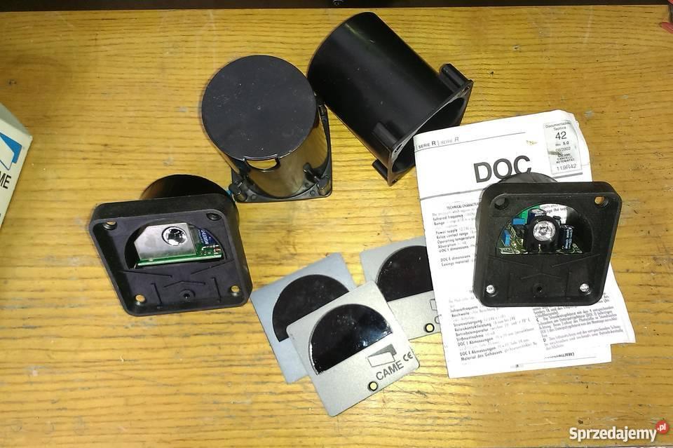 Zestaw fotokomórek CAME DOC garażowa Ogrodzenia i bramy dolnośląskie Lubin