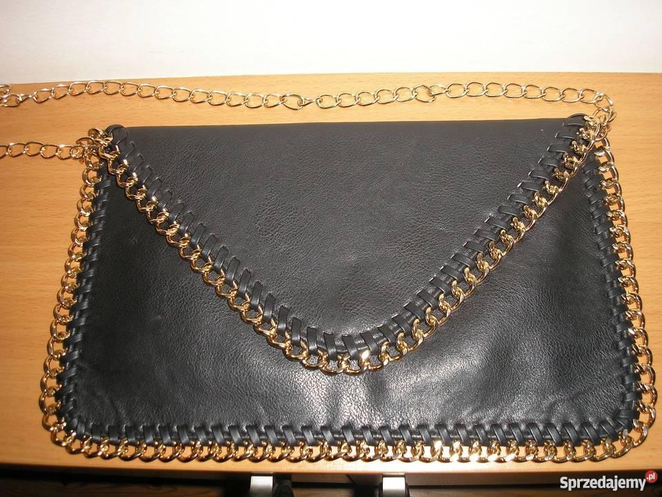 9086e0a65 czarna torebka-kopertówka Forever Słupsk - Sprzedajemy.pl