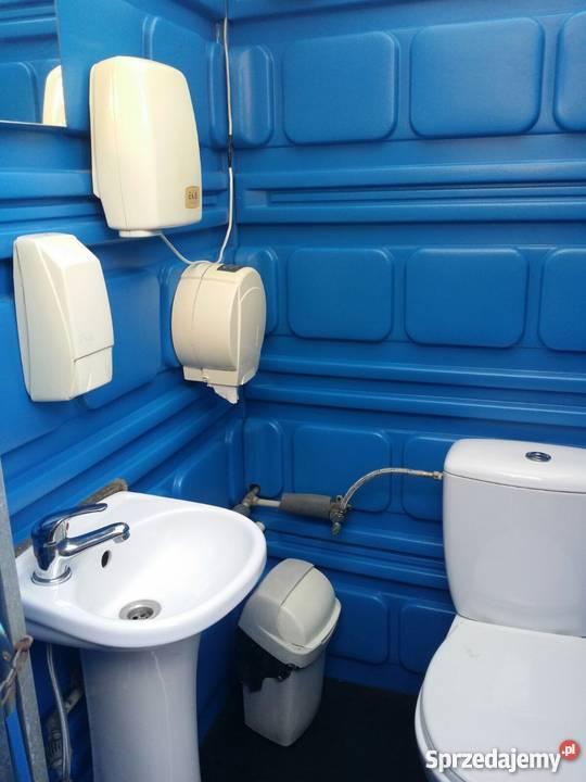 Modernistyczne Obniżka! Toalety typu Toi Toi z pełnym wyposażeniem:) Dąbrowa VZ44