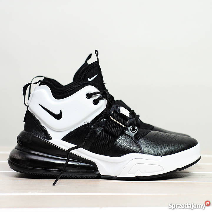 newest 7e808 fd8e3 Nike Air Force 270 Black White r4245 Lublin