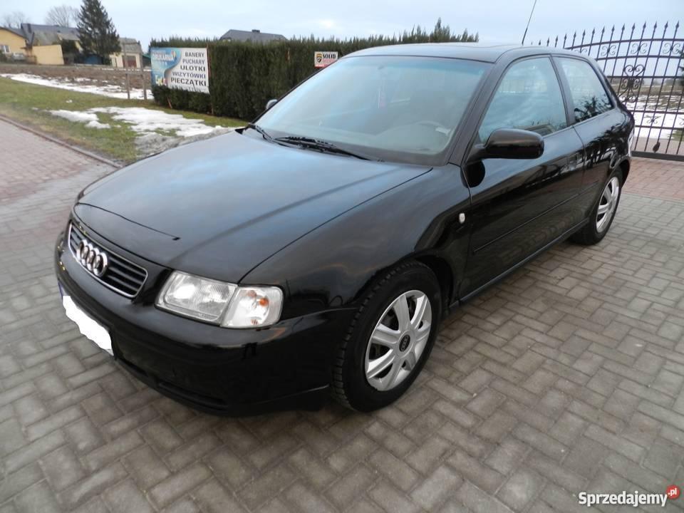 Czarne Audi A3 16 Gaz Sekwencja Rok 1998 Stan Bdb świdnik