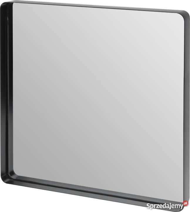 Lustro W Czarnej Metalowej Ramie 40 X 40 Cm Kanie Sprzedajemypl