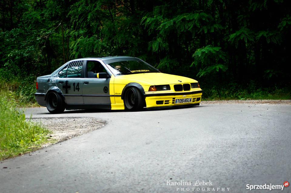 Zaawansowane BMW 318i LowMesserschmitt / BRYNDZISM / SZEROKA STAL / GLEBA ZZ22