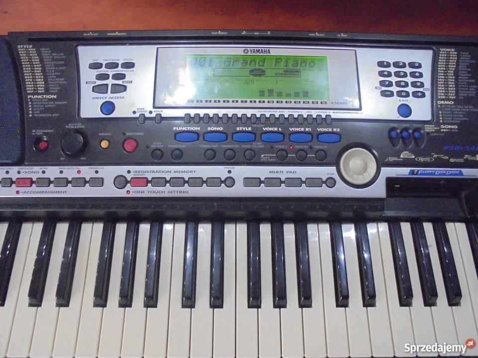 Keyboard Yamaha PSR540 Katowice sprzedam