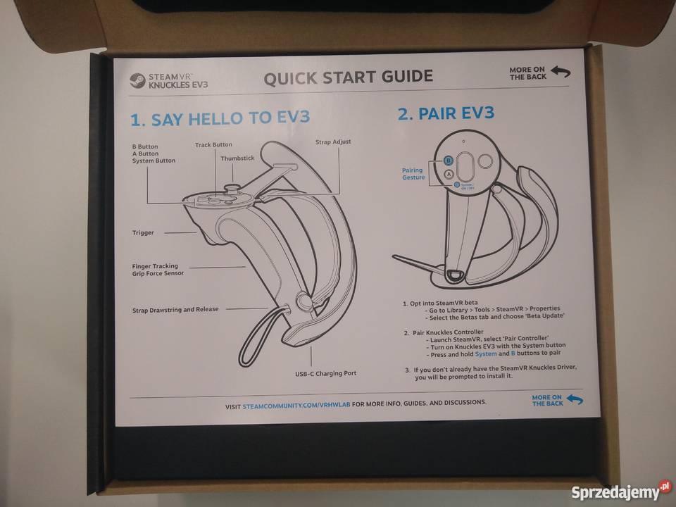 Steam Knuckles EV3 (do HTC Vive)