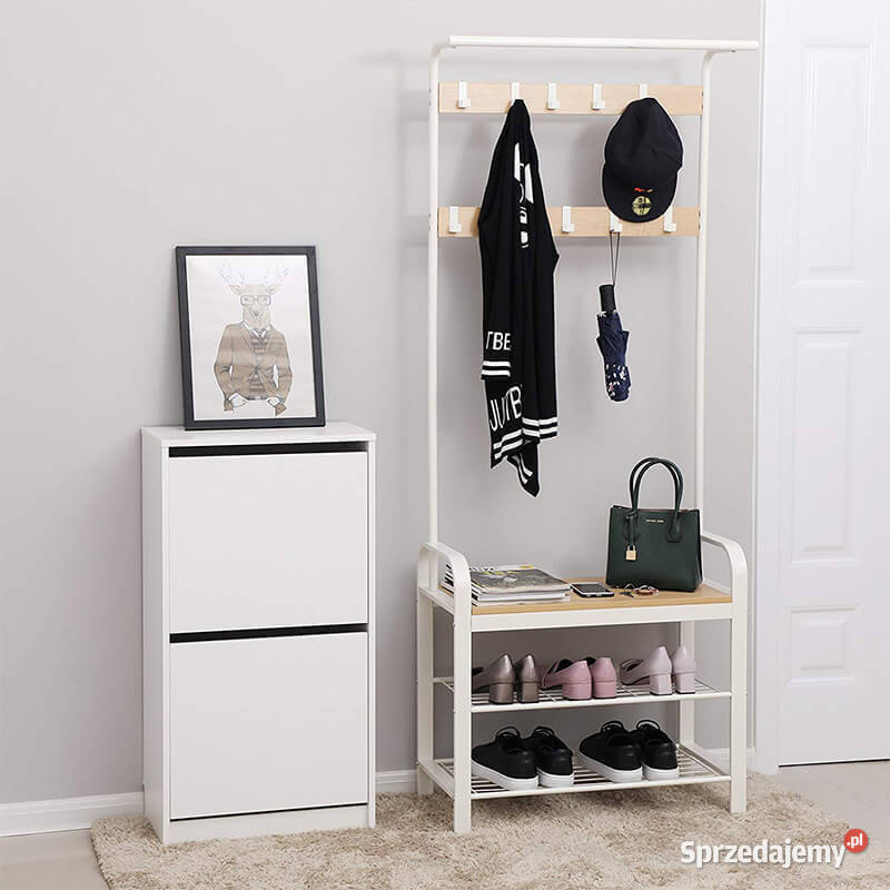 Garderoba do przedpokoju wieszak szafka na buty SOHSR40W