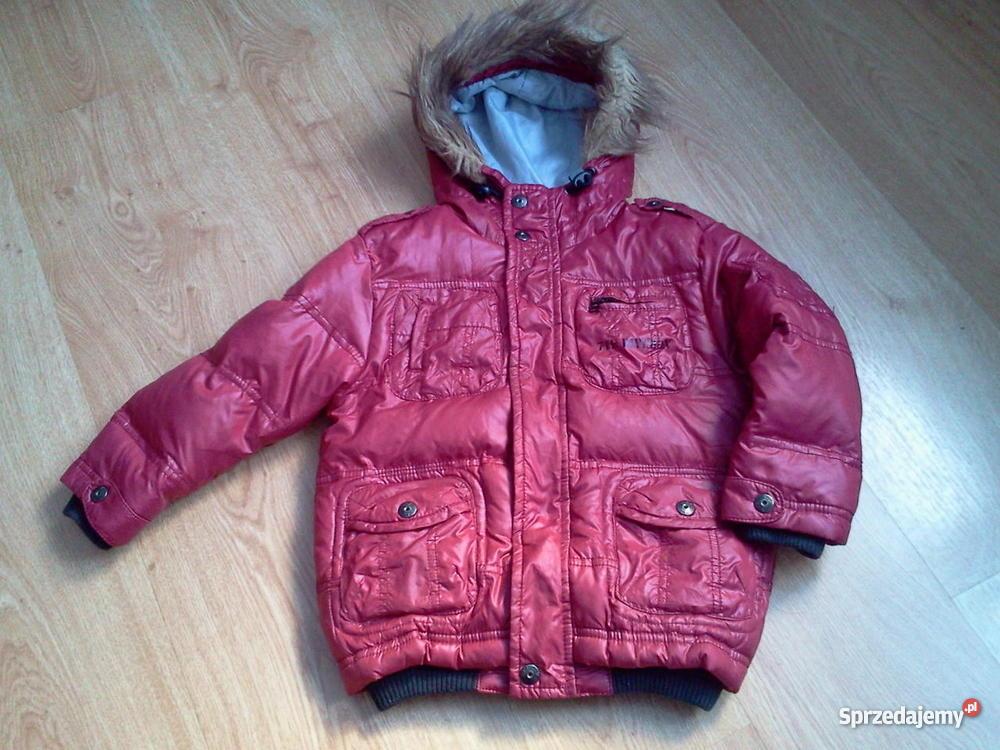 602a9cb8d9e28 świetna modna kurtka dla chłopca r 104 - Sprzedajemy.pl