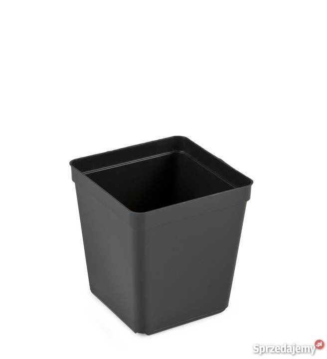 230 L Donica Doniczka Doniczki Czarne Produkcyjne 15x15