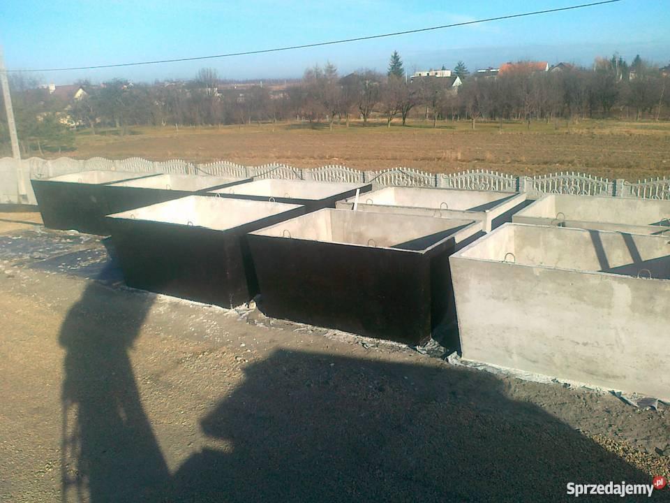 Poważne SZAMBA SZAMBO betonowe Producent Małopolska Skała - Sprzedajemy.pl HJ07