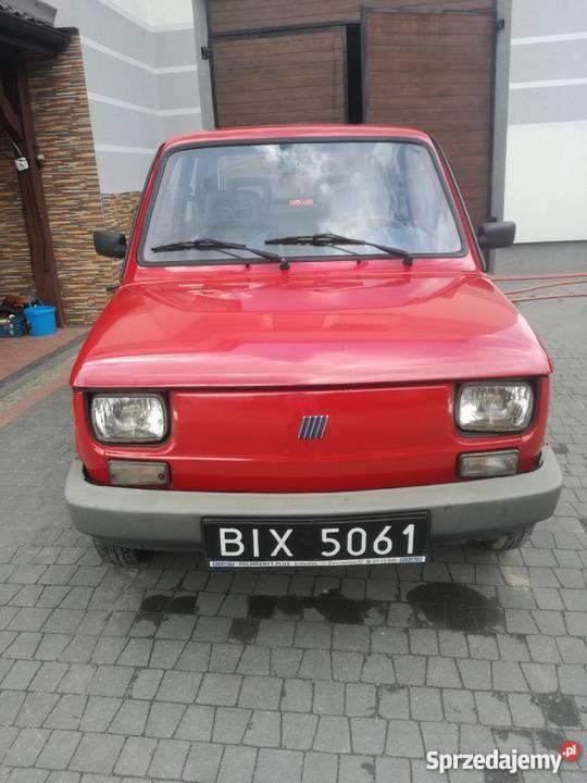 Fiat 126p Maluch 1999 r Szepietowo sprzedam