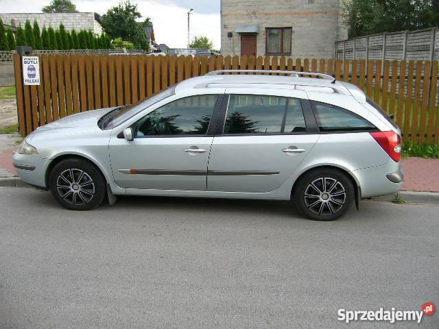 Zaktualizowano 2001 Renault Laguna II 1,9 dci kombi privilege - BEZ SILNIKA QF93