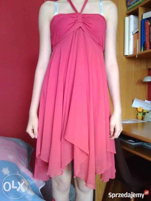 de0ebd1153 Różowa sukienka Pabianice - Sprzedajemy.pl