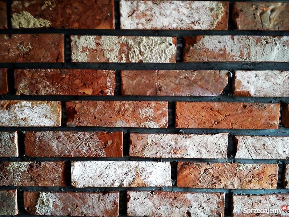 Płytki z historycznej cegły