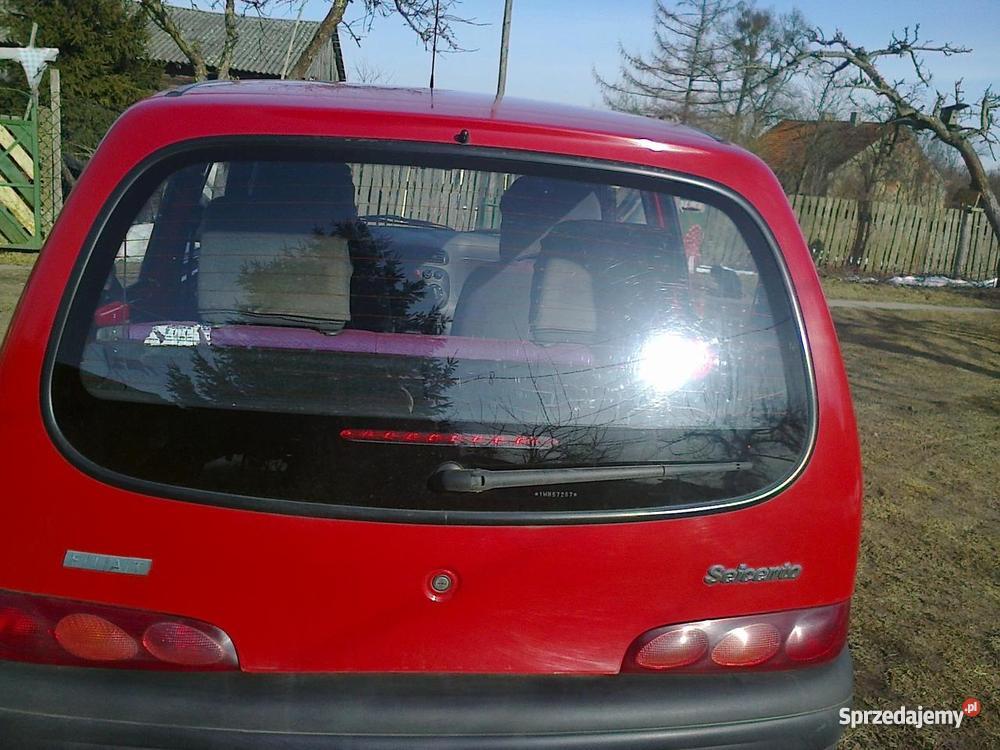 Fiat Seicento kupiony w Polsce warmińsko-mazurskie Liski