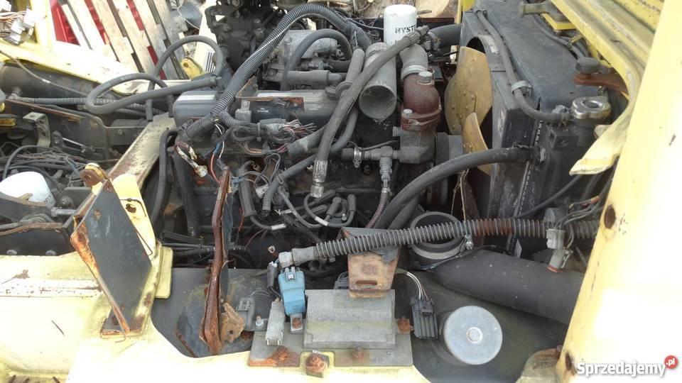 W Ultra Wózek widłowy Hyster H3.20 XML rok 2003 Silnik GM do remontu PK33