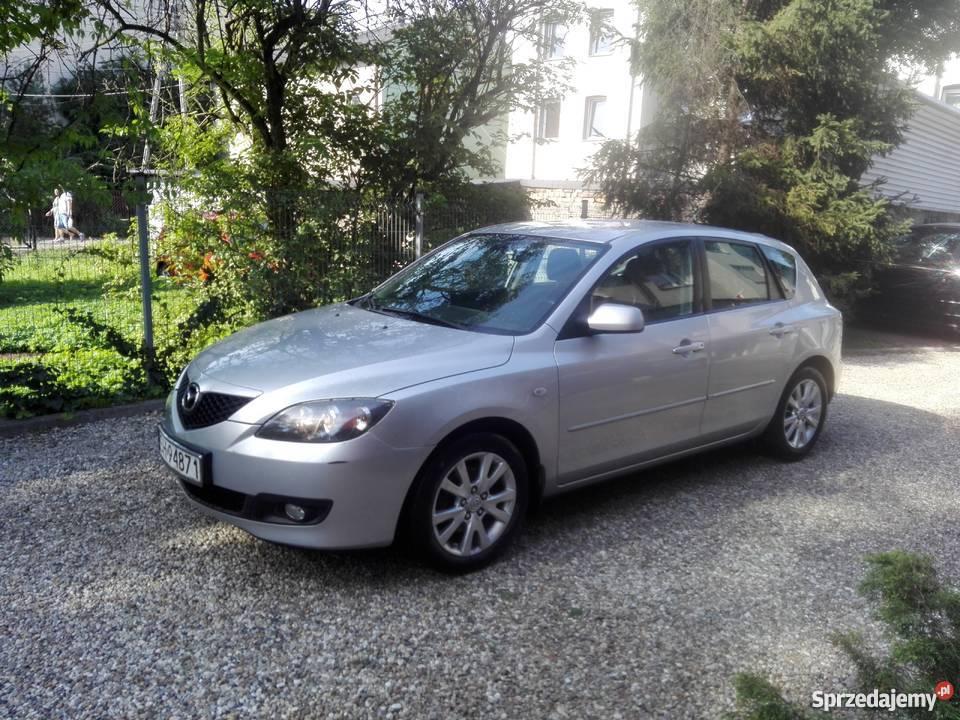 Mazda 3 klima sprawna jeżdząca fajna zadbana 236797km śląskie Sosnowiec