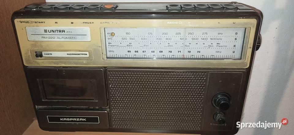 Radiomagnetofon Kasprzak