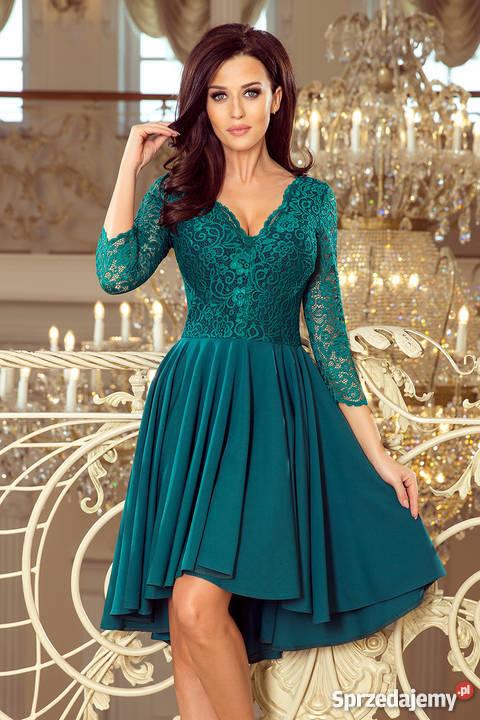 be82f472cf JOKA NICOLLE sukienka zielona koronka S M L XL Rozmiar 36(S) Mykanów