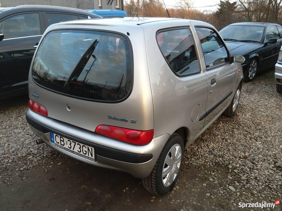 Fiat Seicento SX srebrny