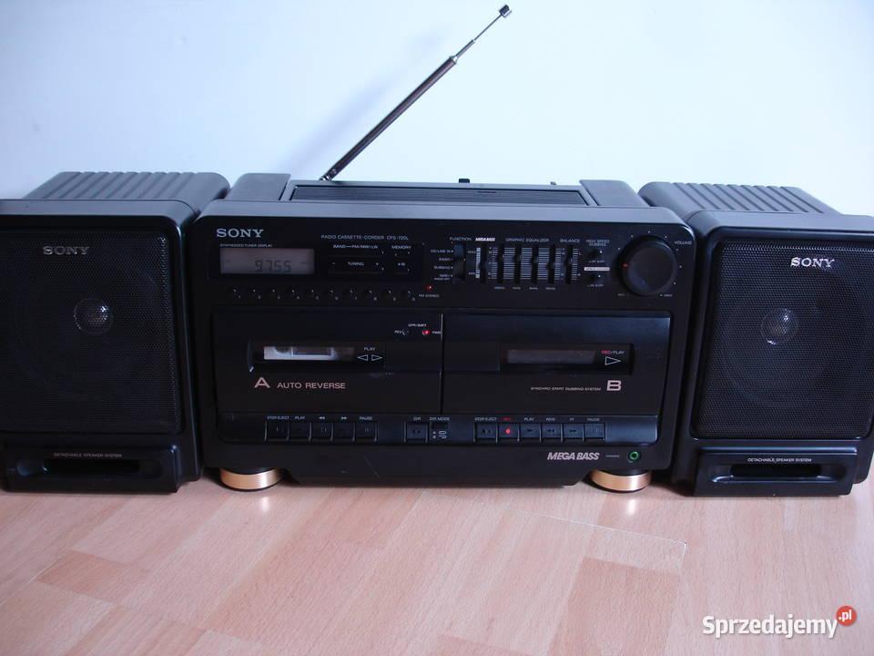 Radiomagnetofon SONY CFS-720L