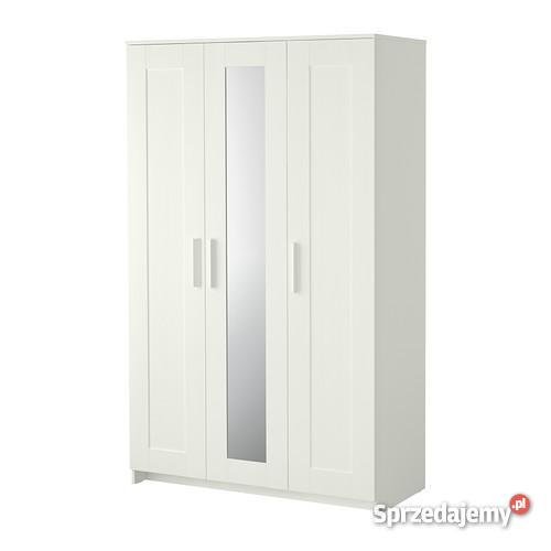 Szafa 3 Drzwiowa Z Lustrem Ikea Brimnes Sprzedajemypl
