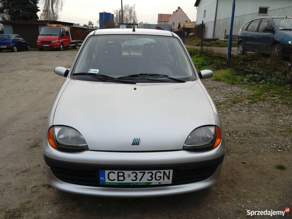 Fiat Seicento SX srebrny kujawsko-pomorskie sprzedam