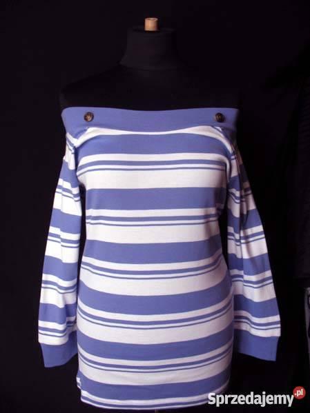 MODNA BLUZKA Tshirt TUNIKA 42 XL Tanio fioletowy Siedlce