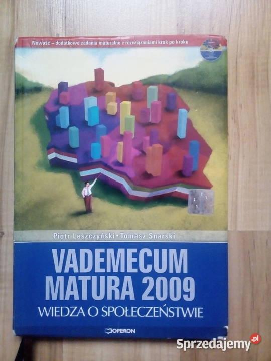 Vademecum matura 2009 Wiedza o społeczeństwie