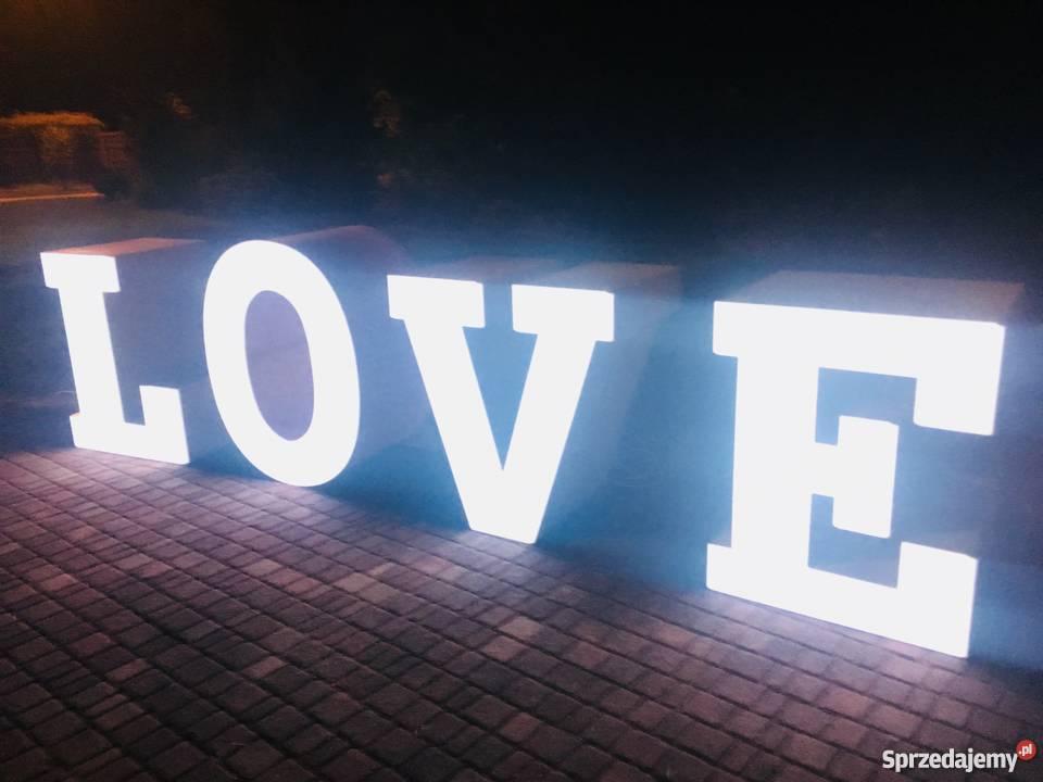 STÓŁ LOVE NAPIS LOVE SŁODKI STÓŁ CUKROWA POKUSA