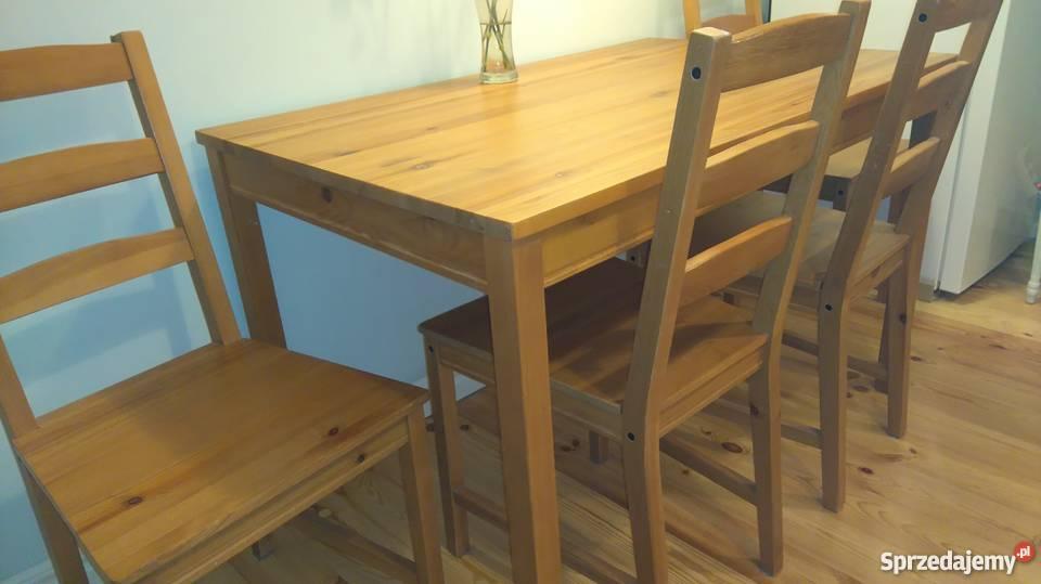 Stół i 4 krzesła (IKEA) Warszawa Sprzedajemy.pl