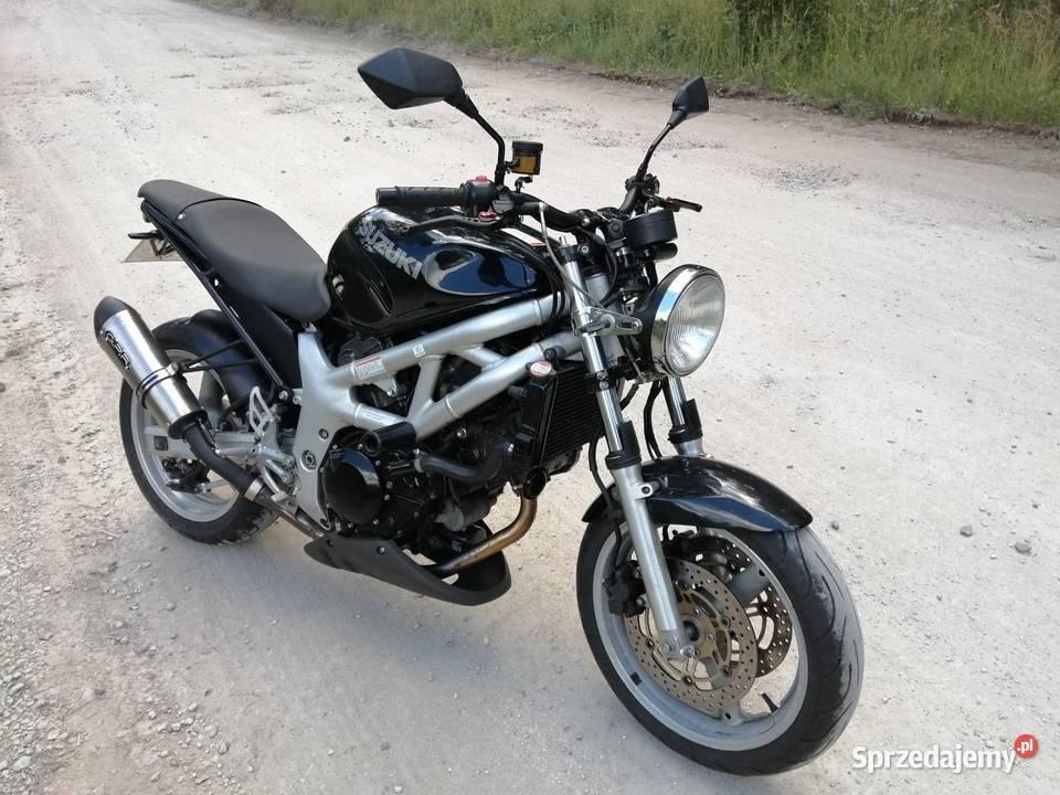Suzuki SV 650 piękny naked Bydgoszcz - Sprzedajemy.pl