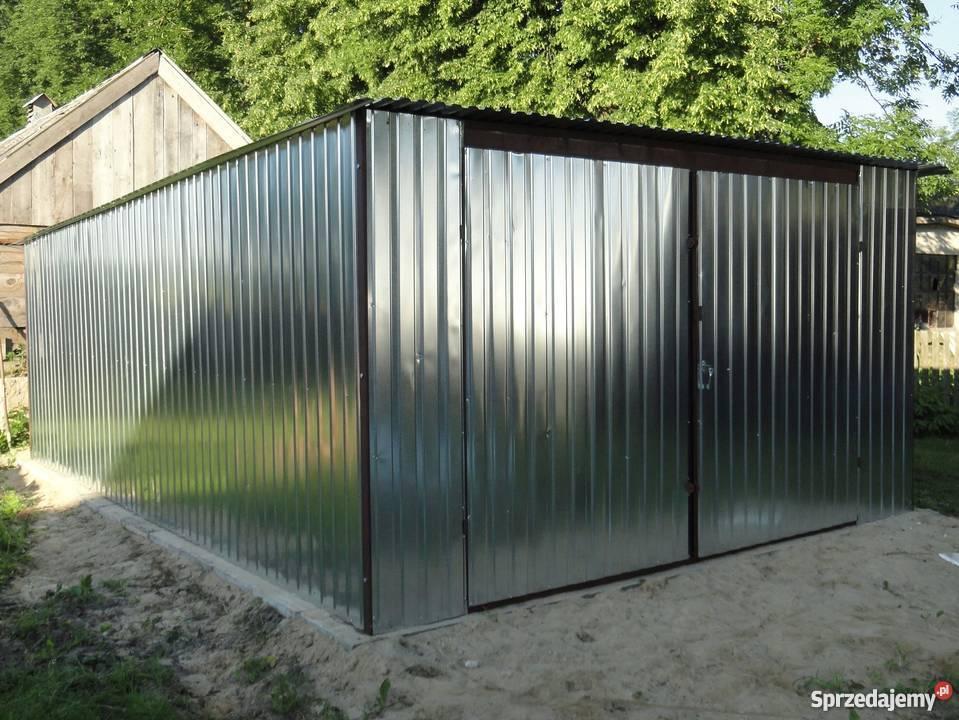 GARAŻ BLASZAK 4x5 4x6 WZMOCNIONY garaże  lubelskie
