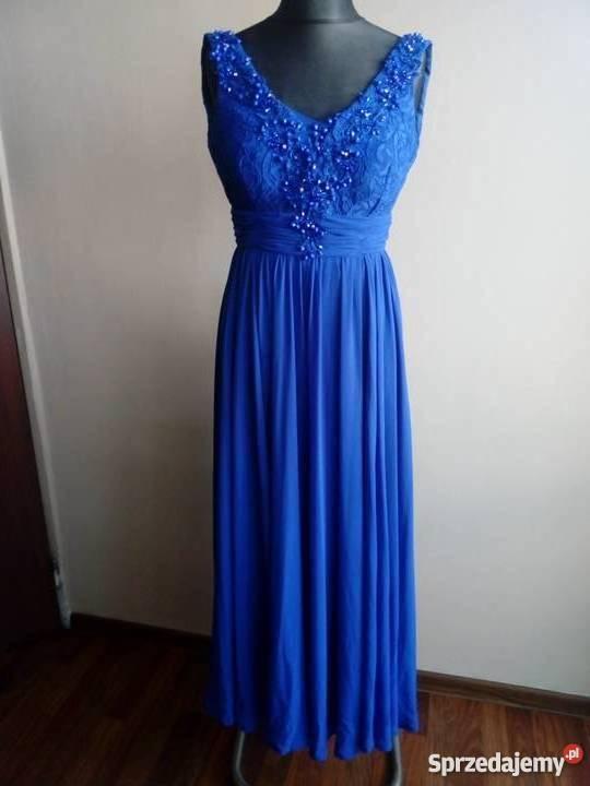 349610b3dc sukienki na wesele niebieskie - Sprzedajemy.pl