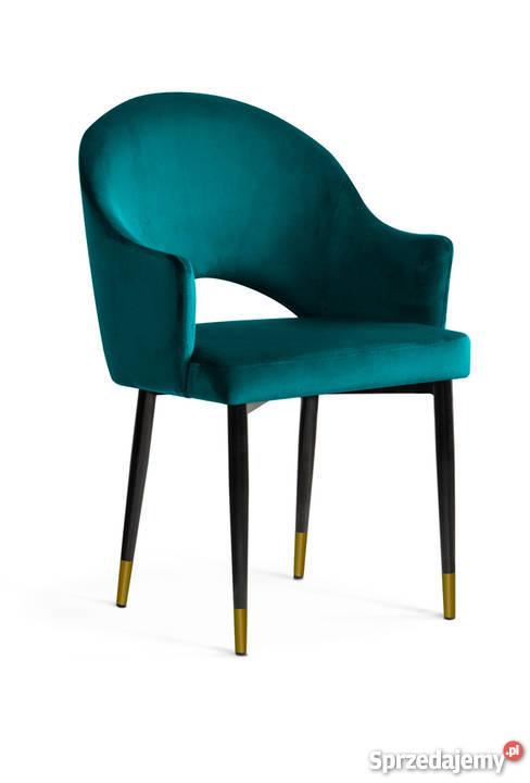 Krzesło Do Salonu Kawiarni Jadalni Goda Aksamit