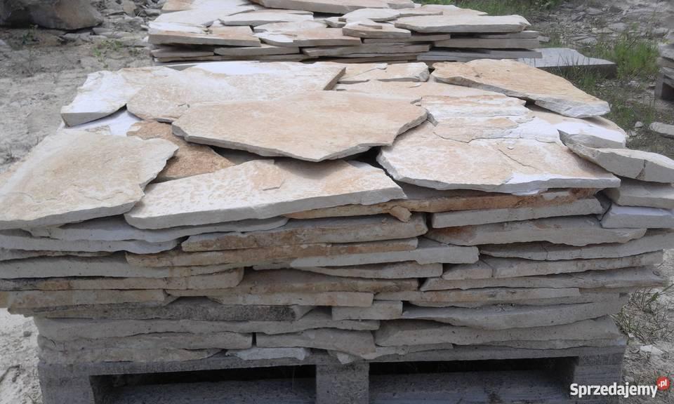 Kamień piaskowiec dzikówka elewacje ogrodzenia mazowieckie Śmiłów