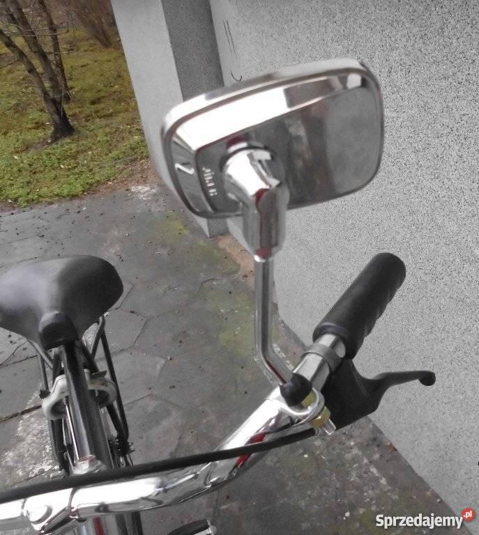 Lusterko do roweru stylowego Nowe chromowane Warszawa