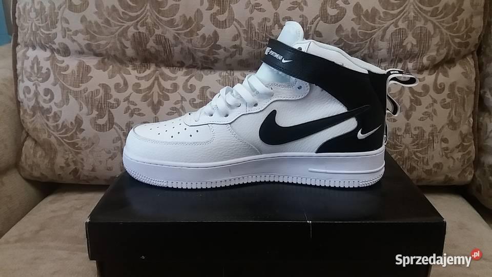 nike air force 1 mid lv8 biały