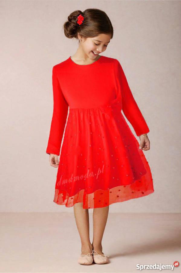 589079d6f8 tiulowa sukienka dla dziewczynki - Sprzedajemy.pl