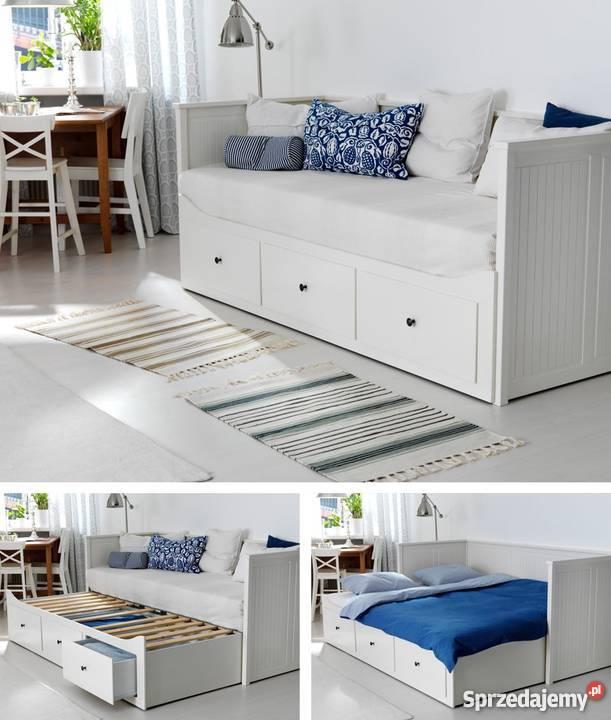 Ikea Hemnes łóżko 2 Materace Wym 160 X 200 Cm